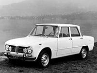 Alfa Romeo Giulia 1962-1978