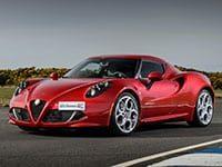 Alfa Romeo 4C depuis 2013