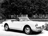 Alfa Romeo Giulietta-Giulia Spider 1955-1965