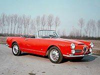 Alfa Romeo 2000-2600 Spider 1957-1965