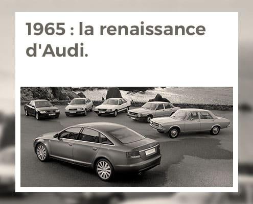 1965 : La renaissance d'Audi