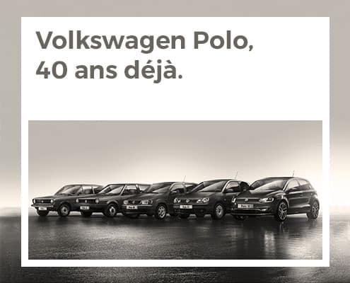 Volkswagen Polo, 40 ans déjà