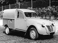 2CV fourgonnette 1954-1978