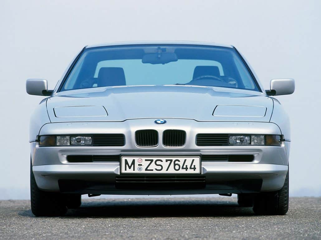 BMW 850i 1989-1992 face avant - photo BMW