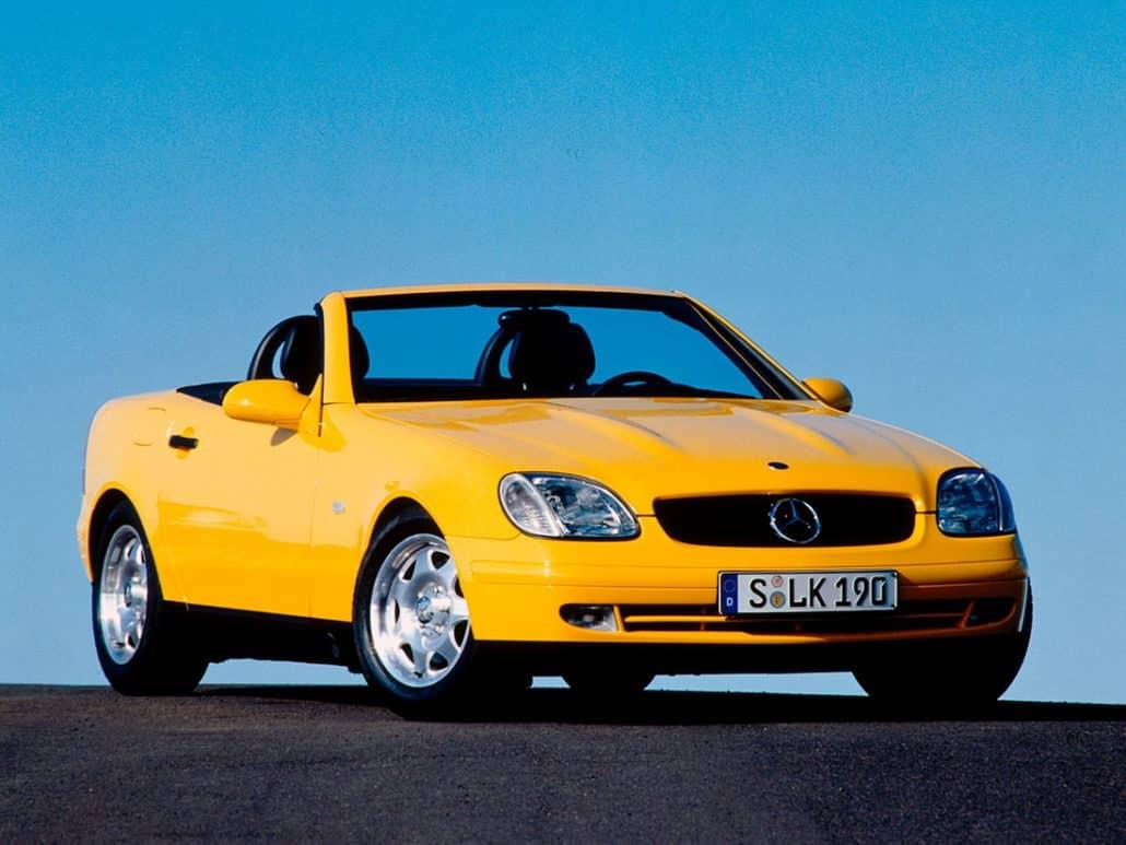 Mercedes Benz Slk R170 Marque De Voiture Allemande Auto