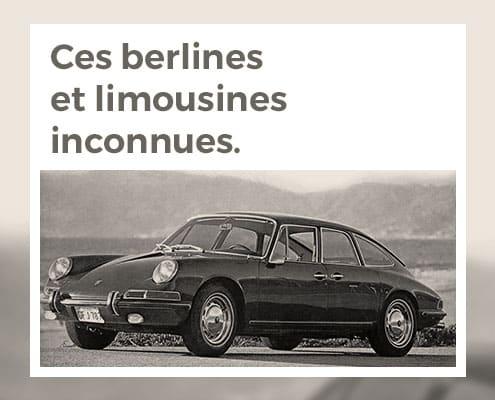 Ces berlines et limousines inconnues