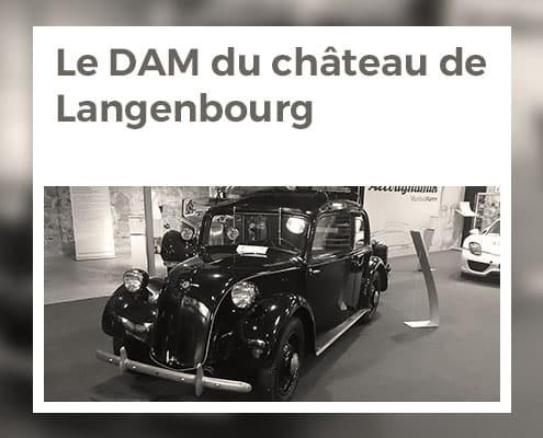 Le Deutsches Automuseum du château de Langenbourg