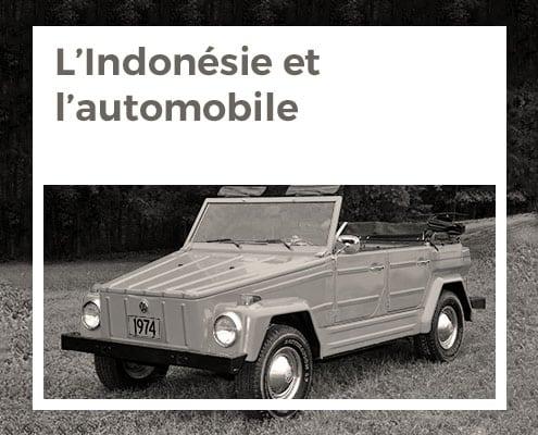 L'indonésie et l'automobile