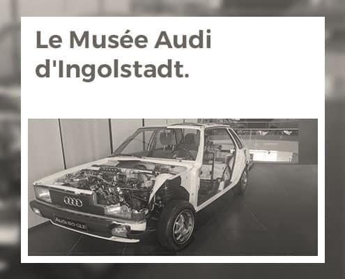 Le musée Audi d'Ingolstadt