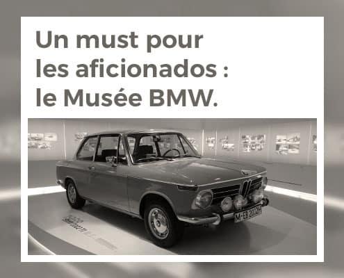 Un must pour les aficionados : le Musée BMW