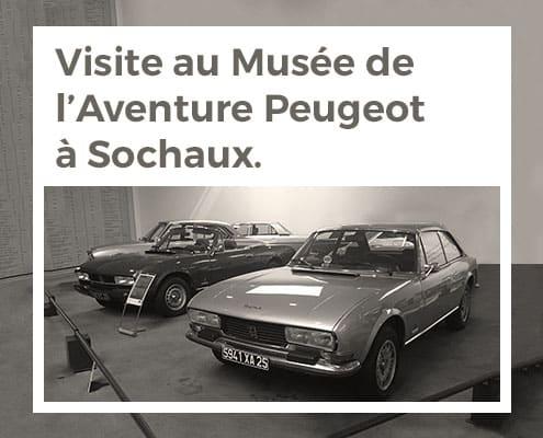 Visite au musée de l'Aventure Peugeot à Sochaux