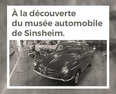 À la découverte du musée automobile de Sinsheim