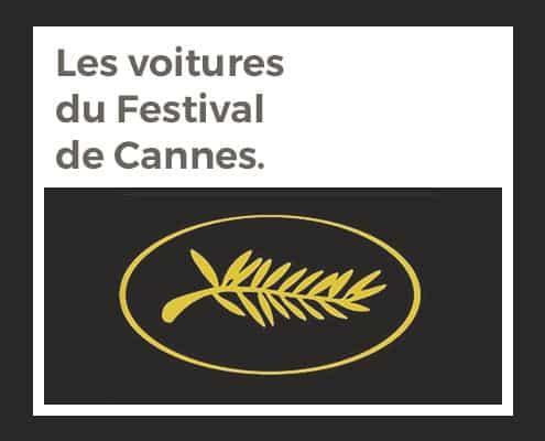 Les voitures du Festival de Cannes