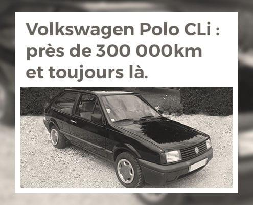 Volkswagen Polo CLi : près de 300 000 km et toujours là