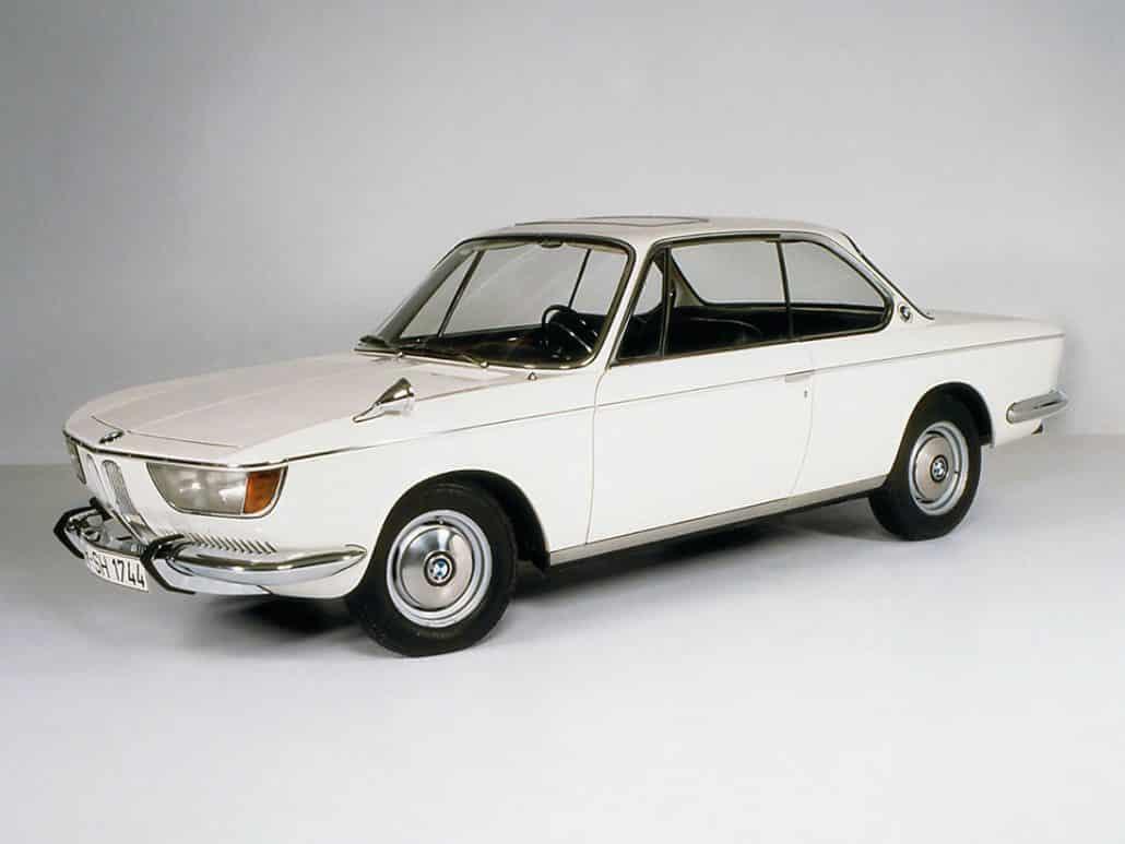 BMW 2000 CS 1965-1970 vue AV - photo BMW
