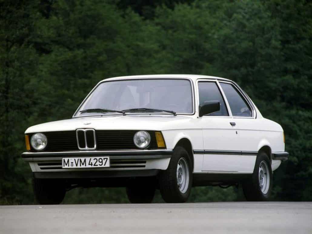 BMW Série 3 E21 316 vue AV 1979-1983 - photo BMW
