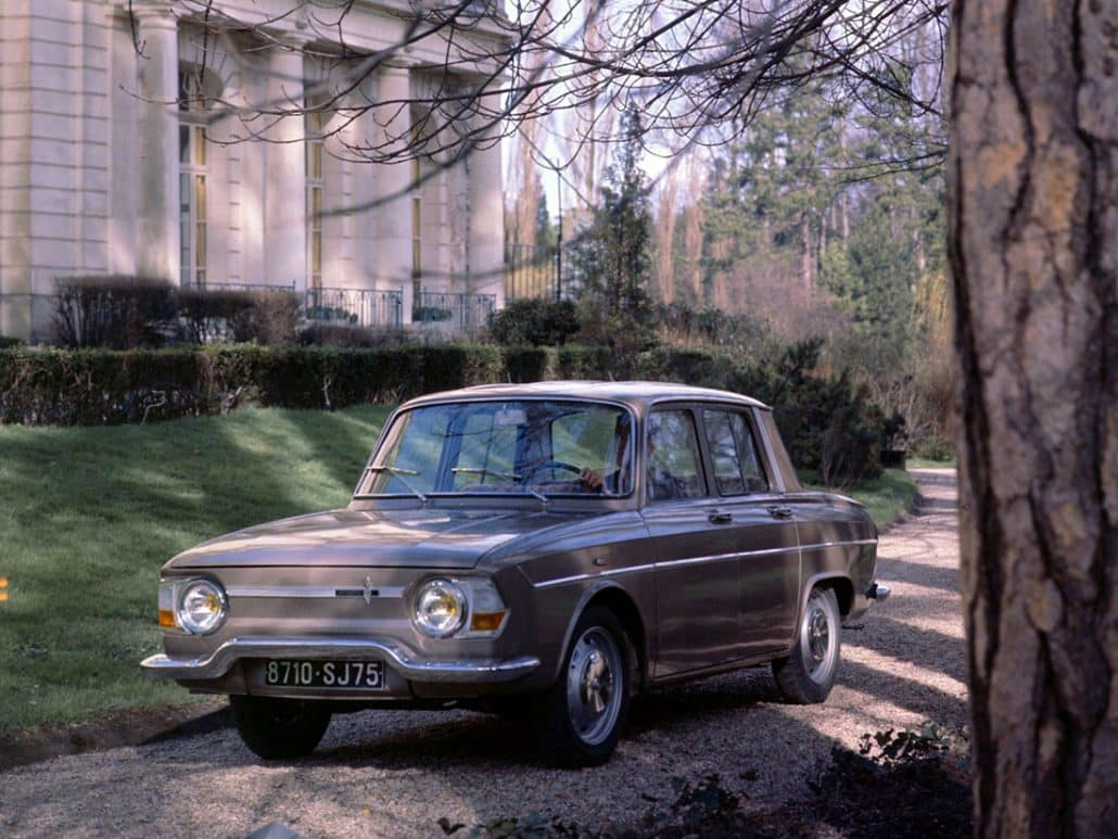 Renault 10 Automatic 1966-1967 vue AV - photo Renault