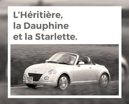 Trois minis roadsters japonais : l'héritière, la dauphine et la starlette