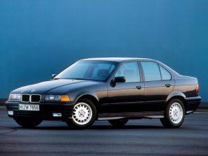 BMW Série 3 E36 1990-1992 vue AV - photo BMW