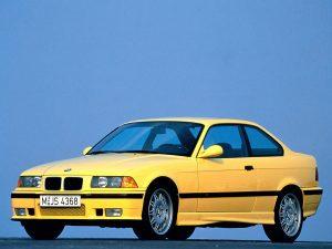 BMW M3 E36 1992-1995 vue AV - photo BMW