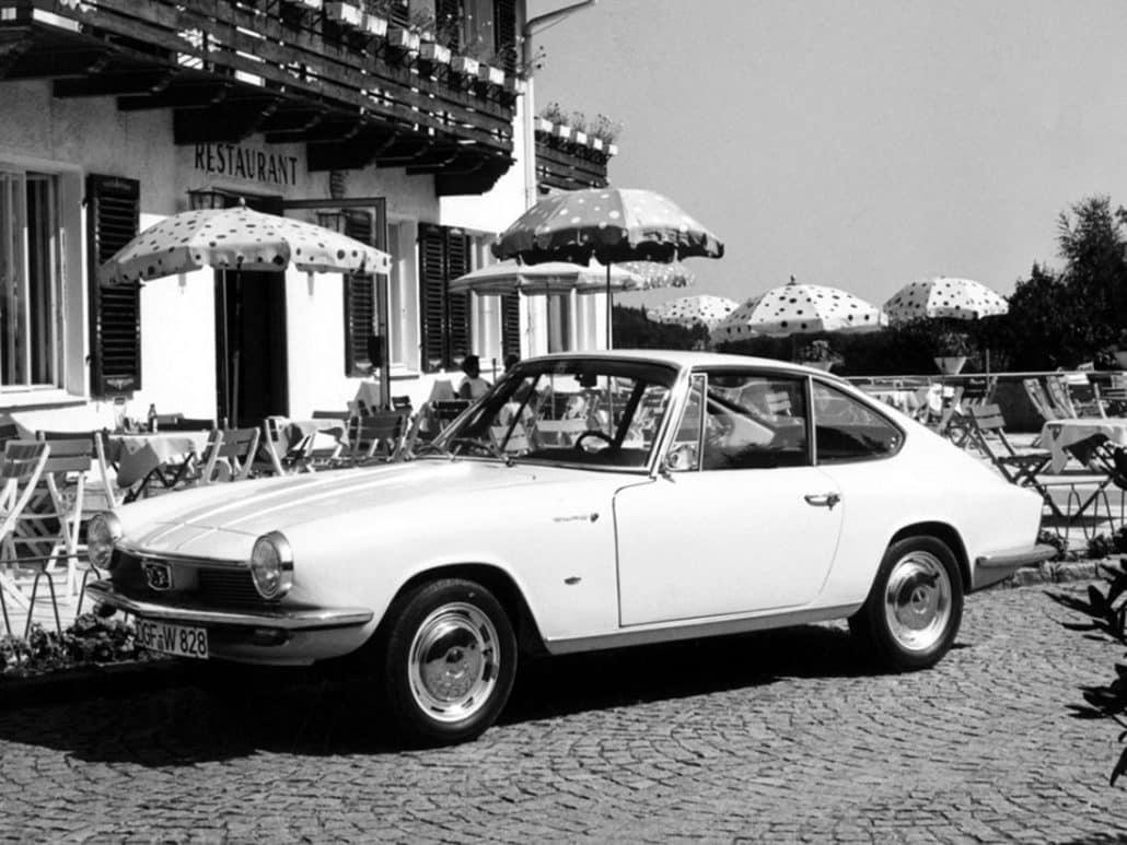 Glas 1300 GT 1964-1965 vue AV - photo Glas