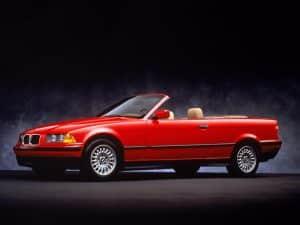 BMW Série 3 E36 Cabriolet USA 1993-1996 - photo BMW