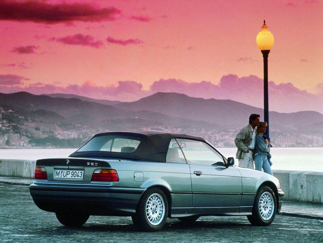 BMW Série 3 E36 Cabriolet avec capote 1993-1996 - photo BMW