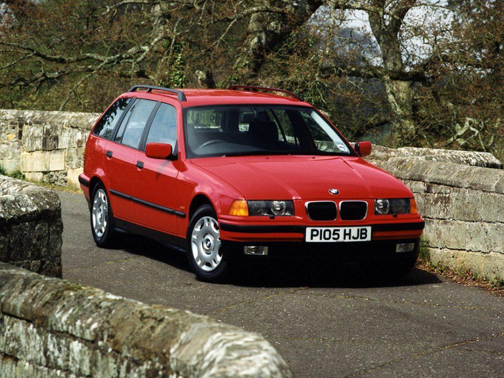 BMW Série 3 E36 Touring 1996-1999 vue AV - photo BMW
