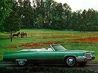 Cadillac de Ville 1968-1970