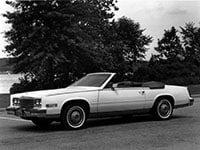 Cadillac Eldorado 1983-1985