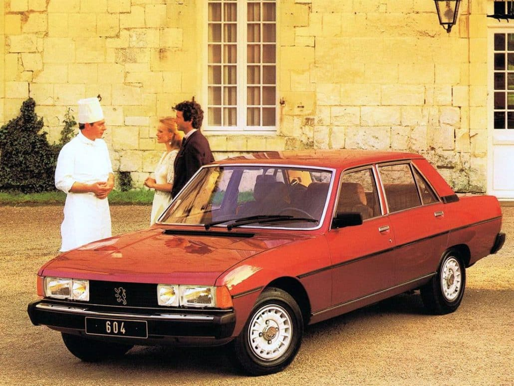 peugeot 604 fiche auto de la berline 604 auto forever. Black Bedroom Furniture Sets. Home Design Ideas