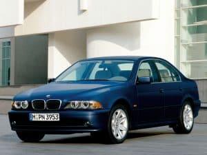 BMW Série 5 E39 2000-2003 vue AV - photo BMW