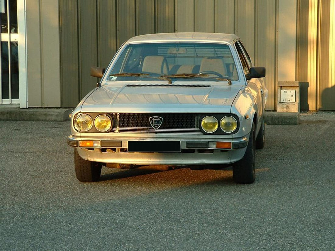 Lancia Beta HPE 2000 année modèle 1980