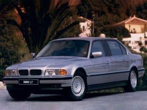 BMW L7 1997-1998 vue AV - photo BMW