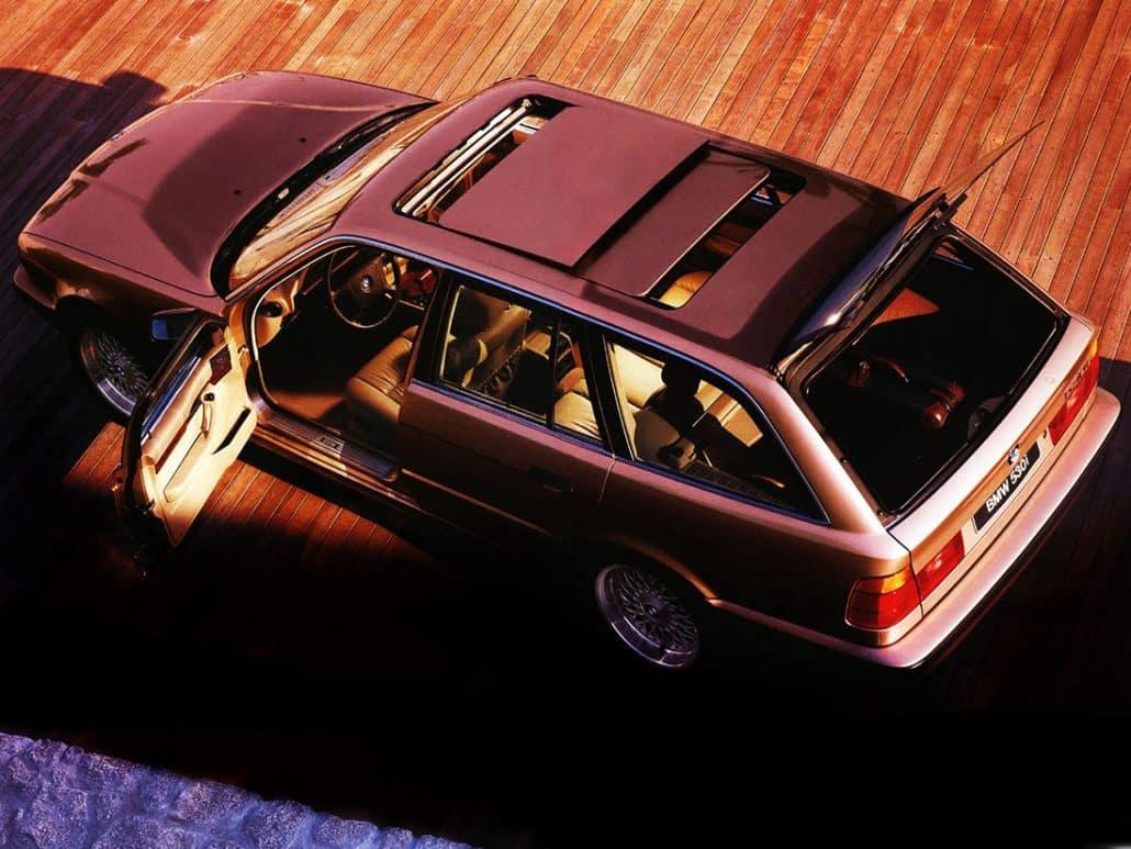 bmw s rie 5 e34 touring toutes les versions auto forever. Black Bedroom Furniture Sets. Home Design Ideas