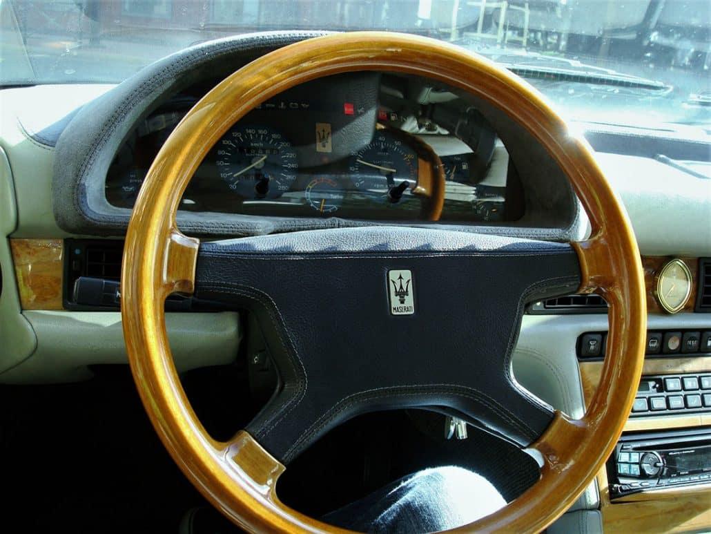 Prenez le volant de cette Maserati 2.24v - photo Alexandre Guirao