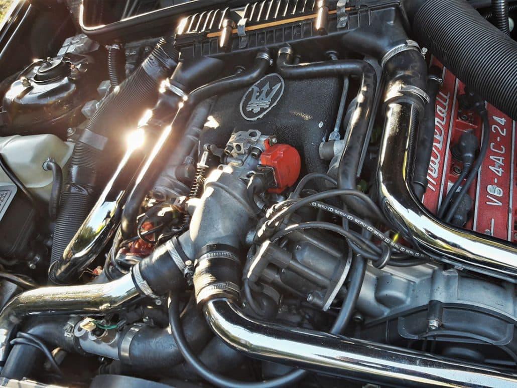 Le coeur de la bête : le moteur V6 2,0 litres - photo Alexandre Guirao
