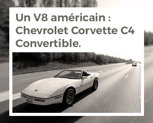 Un V8 Oui Mais Un V8 Americain Chevrolet Corvette C4 Thumb
