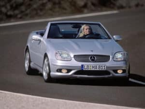 La plus rare des SLK R170 : la version 32 AMG - photo Mercedes-Benz