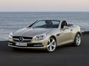 La SLK R172 lancée en janvier 2011 - photo Mercedes-Benz