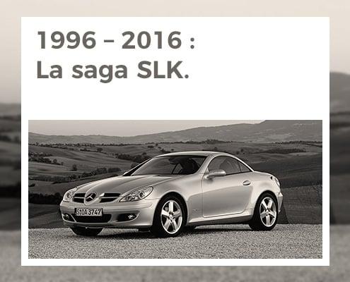 1996 – 2016 : la saga SLK