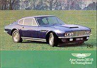 Aston Martin DBS V8 brochure 1971