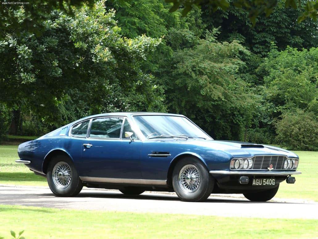 Aston Martin DBS Vantage 1967-1972 vue AV - photo : auteur inconnu DR