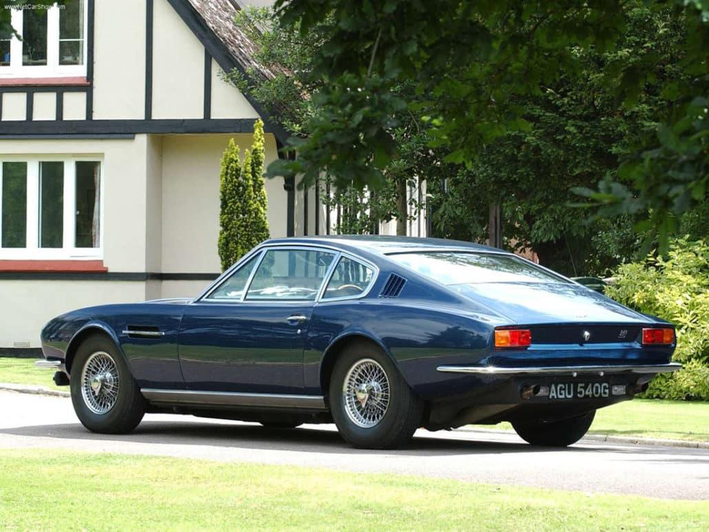 Aston Martin DBS Vantage 1967-1972 vue AR - photo : auteur inconnu DR