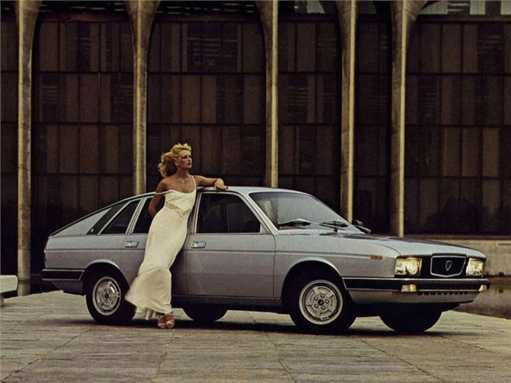 Gamma Berlina 1976-1980 vue AV - photo Lancia