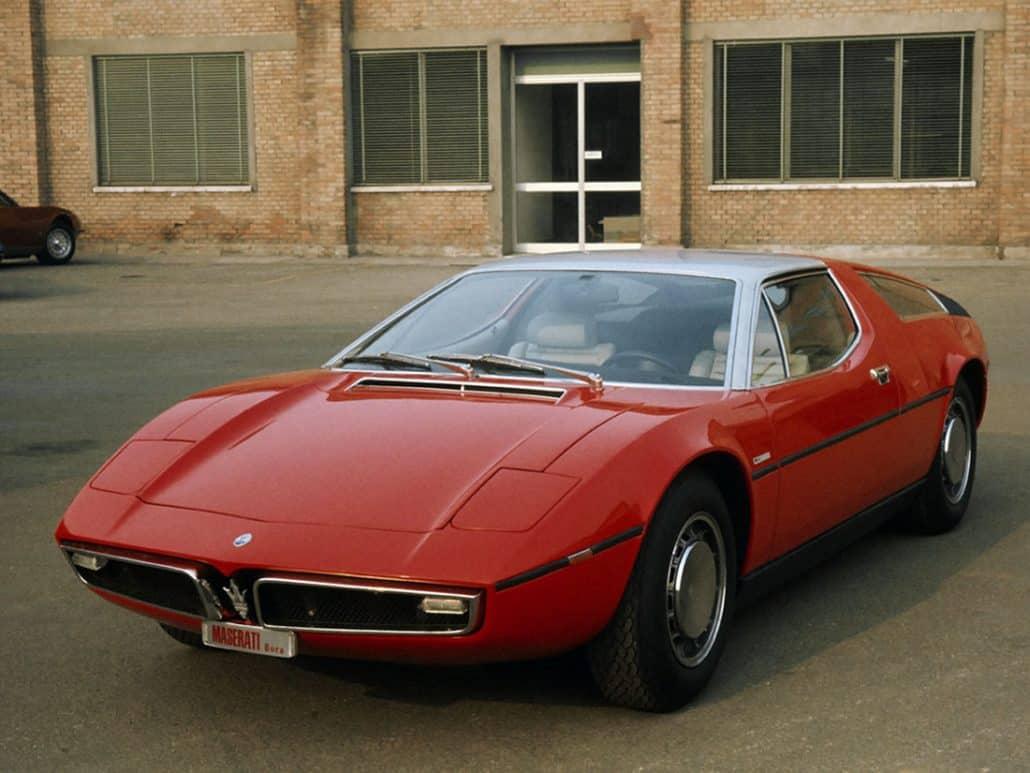Maserati Bora 1971-1973 - photo Maserati