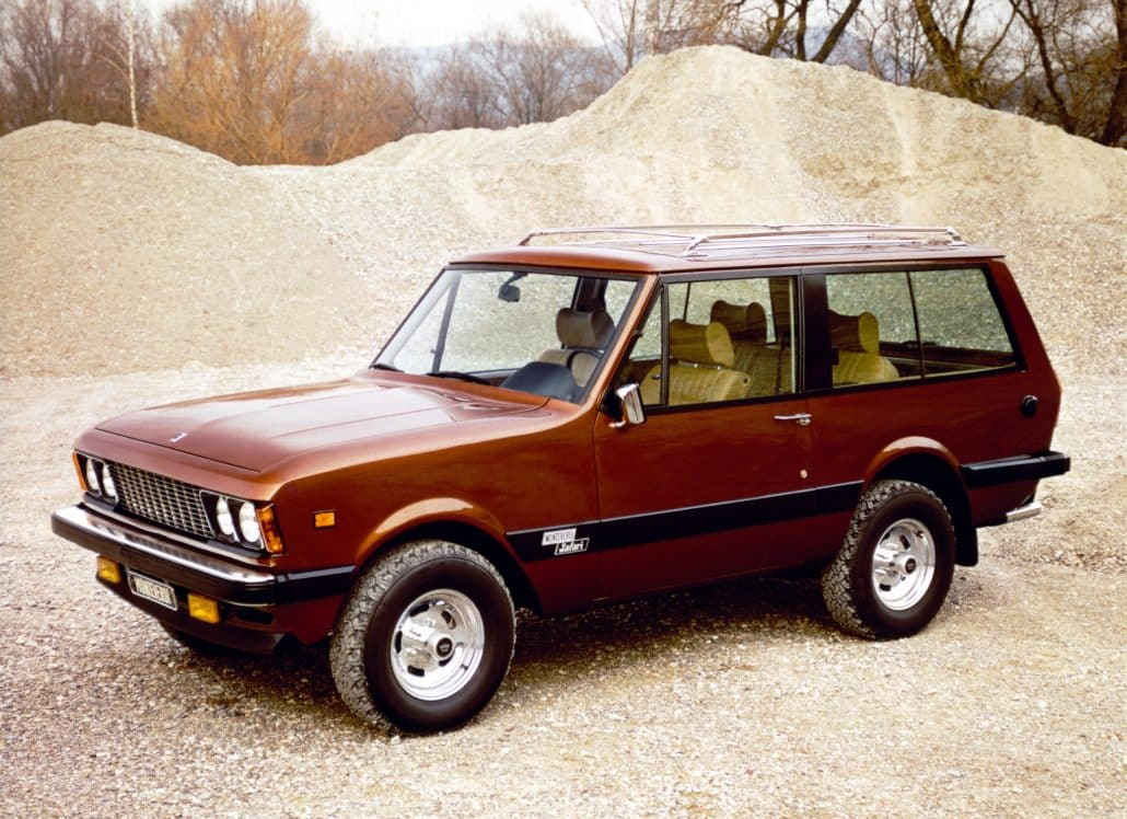 Monteverdi Safari 1976-1982 vue AV - photo Monteverdi