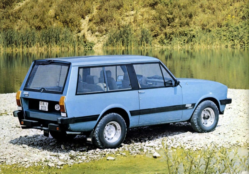 Monteverdi Safari 1976-1982 vue AR - photo Monteverdi