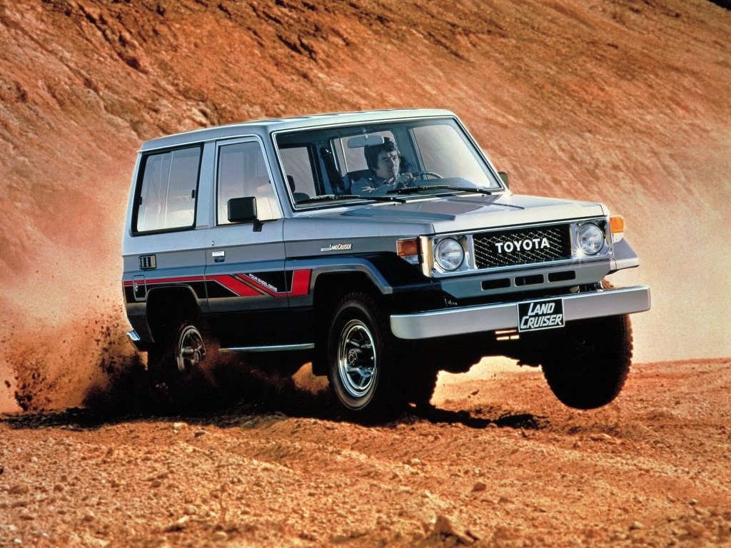 Toyota Land Cruiser 70 1985