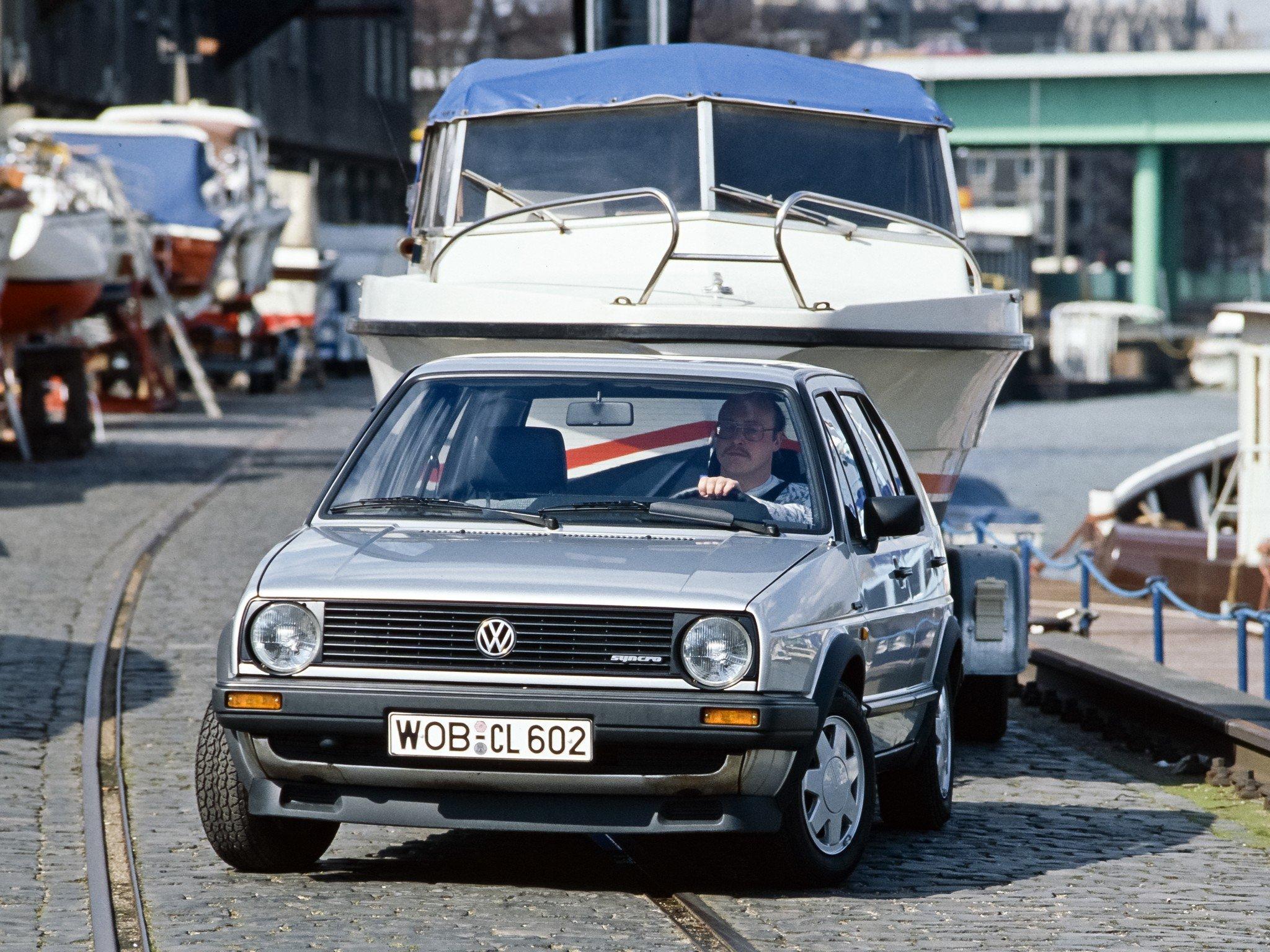 Volkswagen Golf Syncro 5d 1986